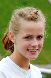 Henriette Smeby ble utsatt for blotting på Gjøvik. (foto: Cornelius Poppe/Scanpix)