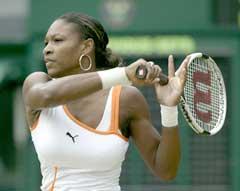 Serena Williams var en klasse bedre enn belgiske Justine Henin-Hardenne. (Foto: Alex Livesey/Getty Images)