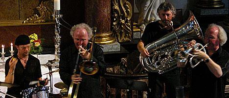 Brazz Brothers på Kongsberg 2003. Foto: Arne Kristian Gansmo, NRK.no/musikk.