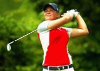 Suzann Pettersen leverte en kjemperunde i US Open fredag (Foto: Scott Halleran/AFP)