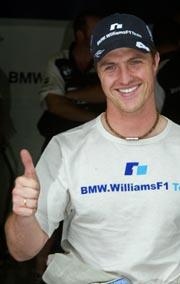 Ralf Schumacher er igjen i pole position søndag (Foto: Yves Herman/Reuters)