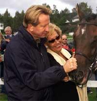 Kunst- og hesteinvestor Tor Arne Uppstrøm eier Paleum sammen med sin kone, Gunn Aarøe Uppstrøm. (Arkivfoto: Scanpix)