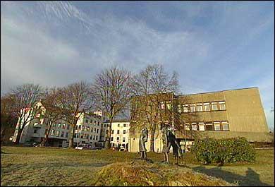 Førde sentralsjukehus Florø. (Foto: Heidi Lise Bakke, NRK)