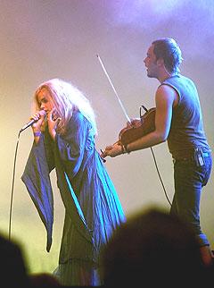 Gåte, her på Arvikafestivalen, spiller på årets Ole Blues - eller Bergenfest, som festivalen nå heter. Foto: Jakob Boserup, Scanpix.