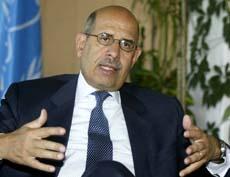 INNE IGJEN: Mohamed ElBaradei og de internasjonale atominspektørene slipper inn i Iran fra 27. mars, lover myndighetene i landet.