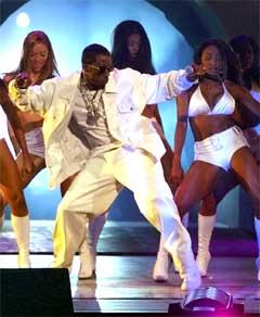 "Sean ""P Diddy"" Combs vil lage musikk man kan rane banker til. Foto: Kevork Djansezian, AP."
