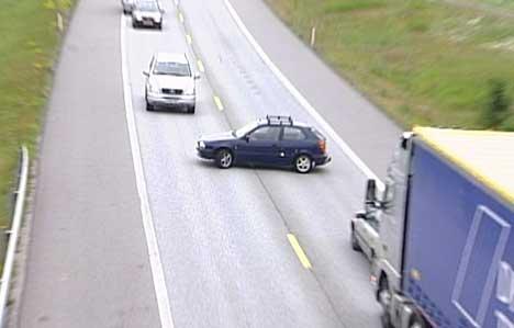 Denne bilisten blir bøtelagt for denne farlige usvingen