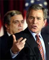 Bush skullle ikke ha hørt på Tenet (Foto Scanpix/Reuters)