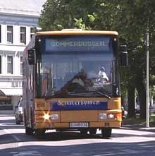 Sommerbussen i Hamar har ikke vært noen suksess.