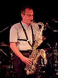 En av verdens fremste saxofonister, George Garzone, spilte på Nite Spot. Foto: Rune Johansen, NRK.no/musikk.