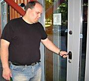 Marius Gustavson møtte stengte dører da han ville leie lokaler i Tollbugata 70.