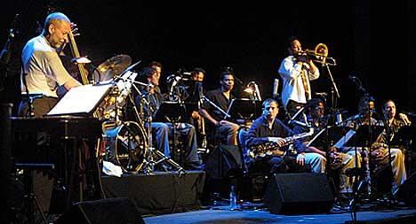 Dave Holland Big Band tro til skikkelig i Bjørnsonhuset. Foto: Arne Kristian Gansmo, NRK.no/musikk.