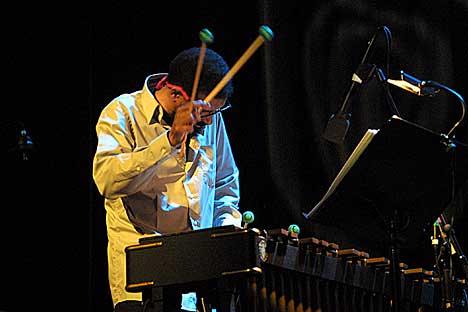 Steve Nelson ga mye til bandet. Foto: Arne Kristian Gansmo, NRK.no/musikk.