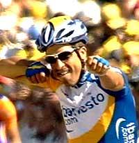 Juan Antonio Flecha jubler for seieren