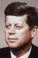 15. mars 1962 talte John F. Kennedy om de grunnleggende forbrukerrettighetene.(AP/Scanpix)
