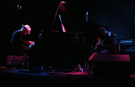 Jason Moran og Tarus Mateen. Foto: Rune Johansen, NRK.no/musikk.