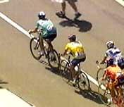 Jan Ullrich og Lance Armstrong jakter på Aleksander Vinokourov