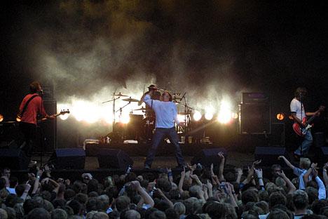 DumDum Boys på Moldejazz 2003. Foto: Arne Kristian Gansmo, NRK.no/musikk.