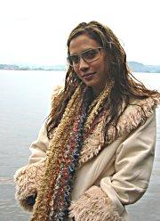 Michele jobber som modell i Thailand.