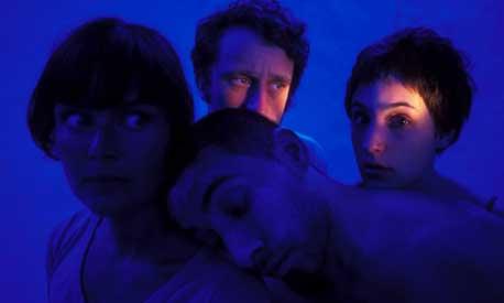 Line Tørmoen, Jo Strømgren, Maxime Iannarelli, Yasmine Hugonnet i Jo Strømgren Kompani (Foto: Knut Bry)