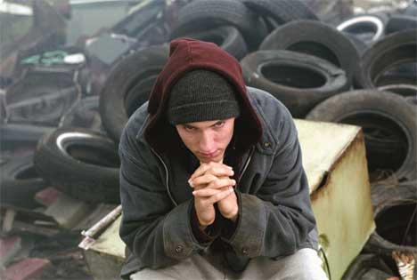Eminem frykter for sitt liv. Foto: Scanpix
