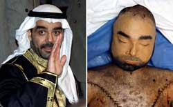 Uday Hussein ble drept av amerikanske soldater i 2003. (FotO: Scanpix / Reuters)