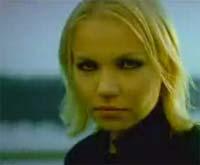 "Lene Marlin fra videoen ""You weren`t there"""
