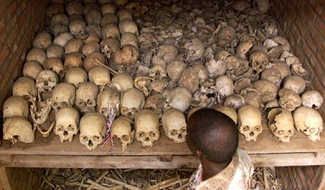 Over 800.000 mennesker ble drept i folkemordet i Rwanda i løpet av tre vårmåneder.