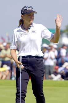 Annika Sörenstam er verdens beste kvinnelige golfspiller. (Foto: AFP/Scanpix)