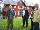 Hausten 2003 var det byggestart på Veksthuset. (Foto:Gunnar Sandvik)