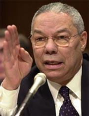 USAs utenriksminister Colin Powell. (Arkivfoto)