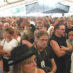 Det skulle vært 3000 flere på årets festival. Foto: Jørn Gjersøe, nrk.no/musikk.