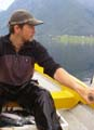 Gudmund Rotevatn(25) har prøvd fiskelykken.