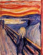 Vulkanutbrudd kan være årsaken til den intesen rødfargen på himmel til maleriet Skrik