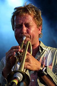Nils Petter Molvær ble indirekte sponset av Pepsi på Øya 2003. Foto: Arne Kristian Gansmo, NRK.no/musikk.
