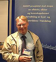 Informasjonssjef i Sør-Trøndelag fylkeskommune Morten Wolden. (Foto: Per Kristian Johansen/NRK)