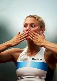 Kirsten Belin er en av de mest populære idrettskvinnene i Sverige. (Foto: www.kirstenbelin.nu)
