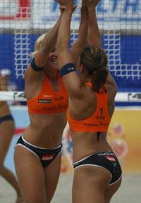 Nila Håkedal og Ingrid Tørlen fikk sin beste plassering.(Foto: Alf Ove Hansen/Scanpix)