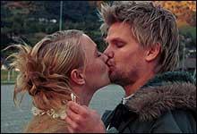 Berte var drømmedama i filmen United hvor hun fikk kysse på Håvard Lilleheie (foto: Filmweb)