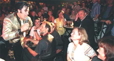 Kjell Elvis er eneste Elvis-imitator av yrke i Skandinavia. Foto: Per Løchen