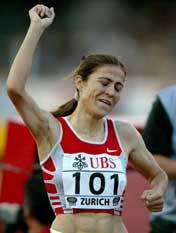 Suereyya Ayhan er storfavoritt på 1500 meter. (Foto: Reuters/Scanpix)