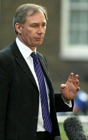 Den britiske forsvarsministeren Geoff Hoon. Foto: Alastair Grant, AP/Scanpix