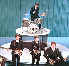 The Beatles opptrer på det legendariske