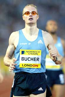 Titelforsvarer Andre Bucher ble satt mye tilbake etter et tretthetsbrudd i april. (Foto: Reuters/Scanpix)