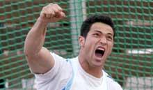 Koji Murofushi er en av Japans største stjerner. (Foto: AP/Scanpix)