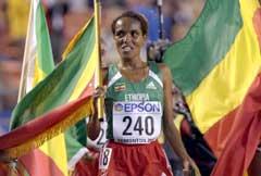 Derartu Tulu vant VM-gull i Edmonton. (Foto: AP/Scanpix)