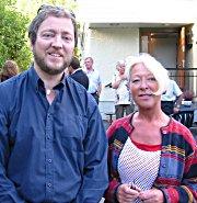 Freddy Hoffmann og Lisbeth Celius Mile er to av representantene i eldreutvalget.
