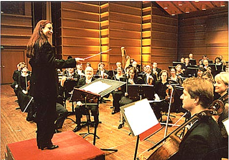 Bergen Filharmoniske orkester gjør pop. Foto: oslokonserthus.no