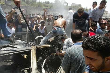 OPPHEVER VÅPENHVILE: Hamas opphevet våpenhvilen etter drapet på Ismail Abu Shanab (foto: Scanpix).