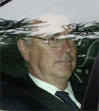 VITNET: David Broucher hadde møte med Kelly i februar. Foto: AP/Richard Lewis